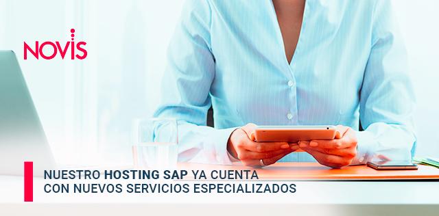 Nuestro Hosting SAP ya cuenta con nuevos servicios especializados