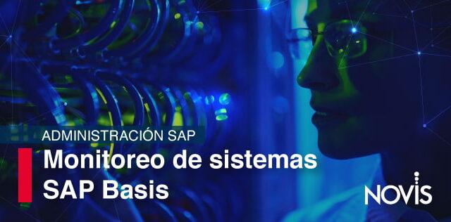 Descubre la importancia del Monitoreo de sistemas SAP en la Administración SAP