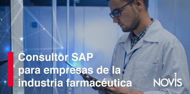 Descubre cómo se beneficia la industria farmacéutica con la ayuda de un Consultor SAP
