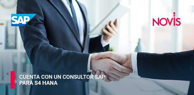 ¿Ya cuentas con un consultor SAP para S4 Hana?