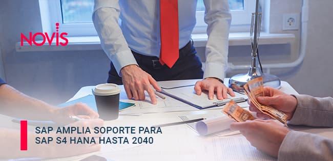 SAP amplía soporte para SAP S/4HANA hasta 2040