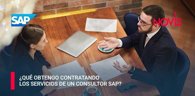 ¿Qué obtengo contratando los servicios de un consultor SAP?