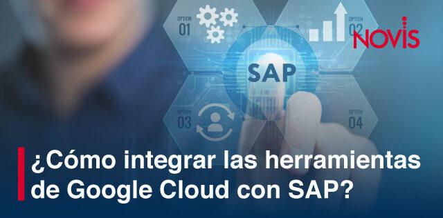 Mejora el aprovechamiento de tus recursos empresariales con las herramientas de Google Cloud con SAP