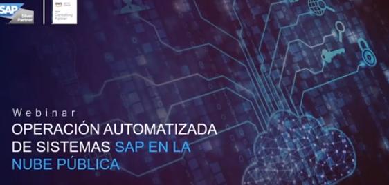 Webinar Operación automatizada de sistemas SAP en la Nube Pública